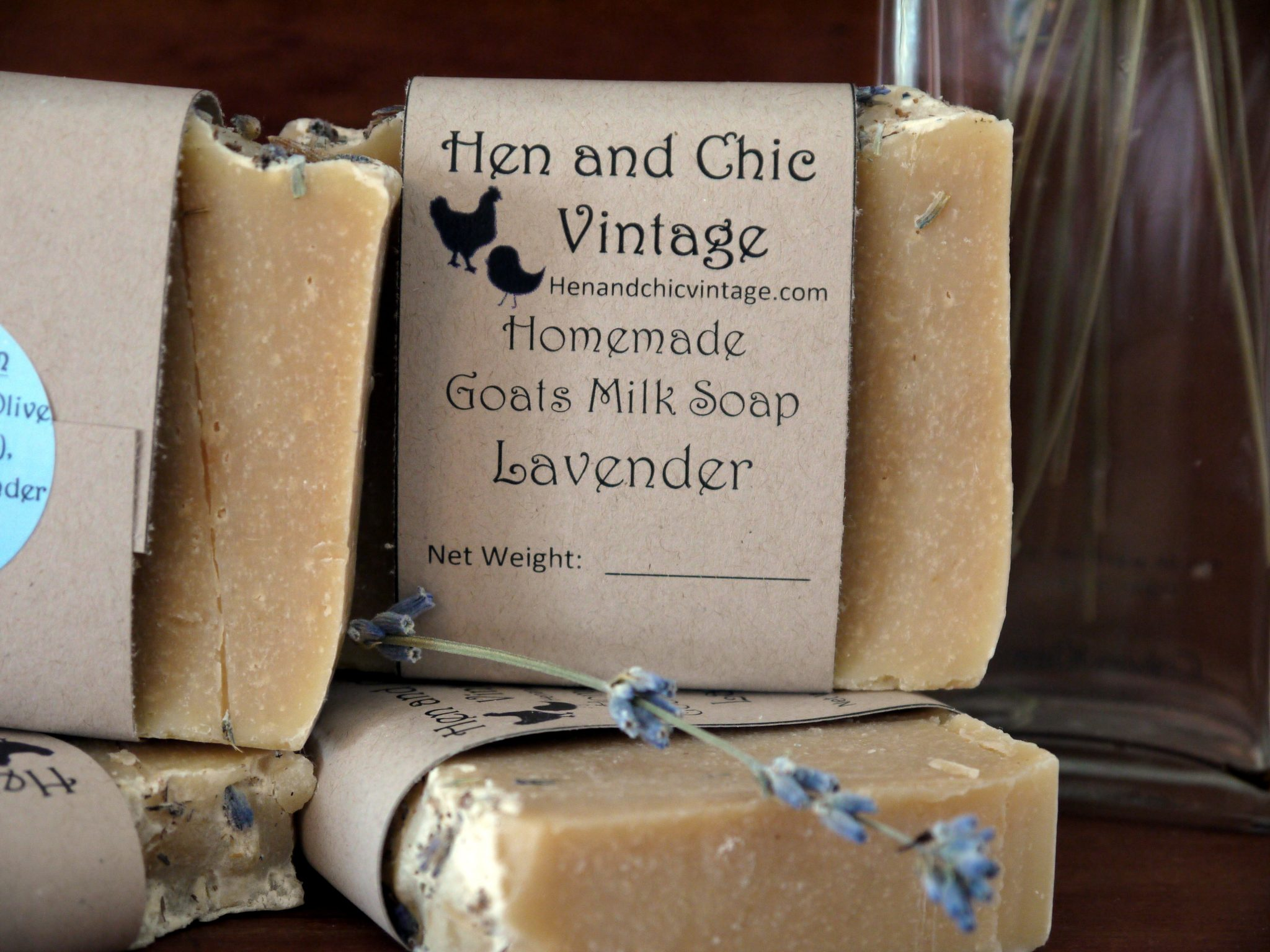 Lavender Goat's Milk Soap – Hen and